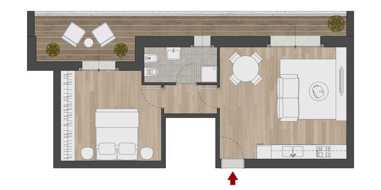 Appartamento 5_edificio C1_P2
