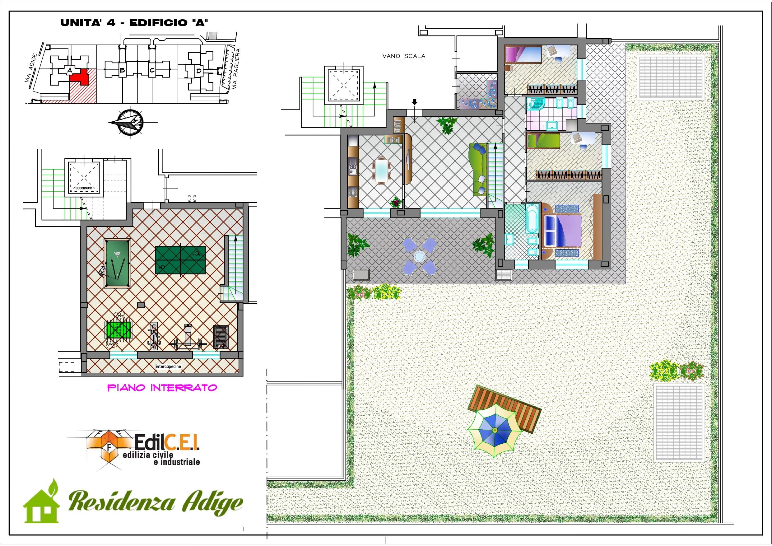 Lainate Pagliera nuova costruzione si prenotano quadrilocale con taverna e giardino
